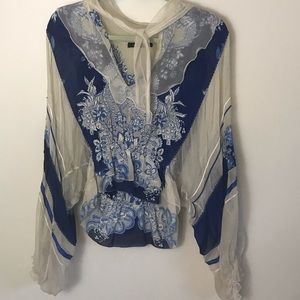 Roberto Cavalli Vintage 💯 % Silk Rare Blouse